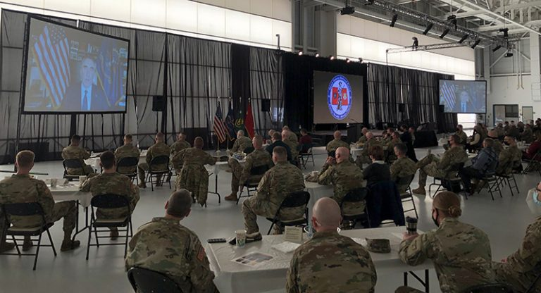 N.D. Guard Recognizes Individuals at Joint Leaders Conference