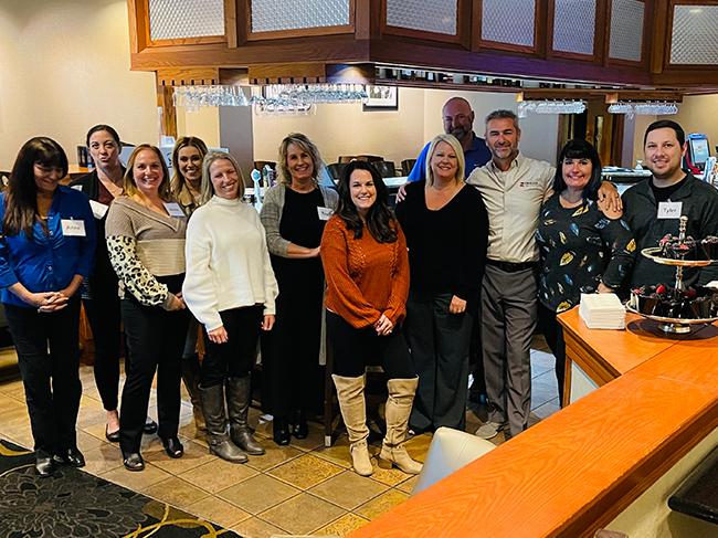 Derron with the sales teams at  Nexstar Media